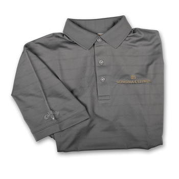 Mens Polo Grey